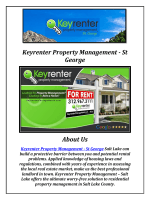 Keyrenter St. George Property Management (435-414-6600)