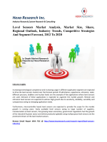Level Sensors Market Analysis, Market Size, Share, Regional Outlook, Industry Trends, Competitive Strategies And Segment Forecast, 2012 To 2020