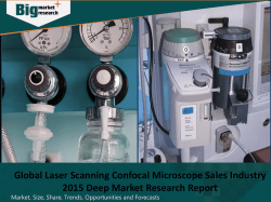 Global Laser Scanning Confocal Microscope Sales Industry 2015 Deep Market Research Report
