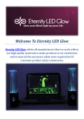 Water Dancing Speakers by Eternity LED Glow