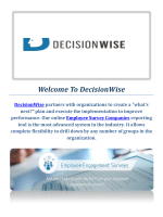 Survey Companies Employee By DecisionWise