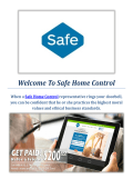 Safe Home Control Security Systems in Provo