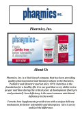 Buy Bariatric Iron Supplement @ Pharmics, Inc.
