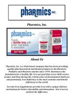 Buy Bariatric Iron Supplement @ Pharmics, Inc.