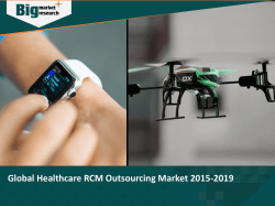 Global Healthcare RCM Outsourcing Market 2015-2019