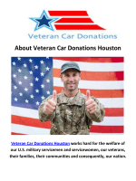 Veteran Car Donation Houston TX