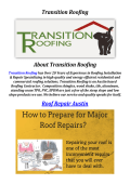 Roof Repair Austin By Transition Roofing