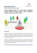 Global mHealth Market Size, Market Share, Application Analysis, Regional Outlook, Growth, Trends, Competitive Scenario And Forecasts, 2012 To 2020
