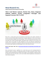 Nitric Acid Market Analysis, Market Size, Share, Regional Outlook, Industry Trends, Competitive Strategies And Segment Forecast, 2013 To 2019
