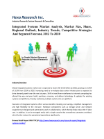 Integrated Systems Market Analysis, Market Size, Share, Regional Outlook, Industry Trends, Competitive Strategies And Segment Forecast, 2012 To 2020