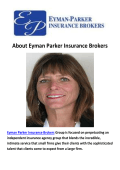 Eyman Parker Insurance Brokers - Insurance Agents Santa Barbara CA