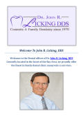 Best Dentist in Sunnyvale California in USA Dr John R Licking DDS