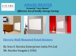 wall mounted panel heaters canada Amaze-Heater