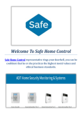 Safe Home Control Security Systems in Orem