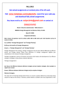 MB0052-Strategic Management and Business Policy