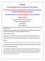 MB0050-Research Methodology