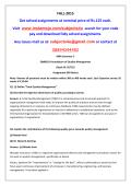 QM0019-Foundations of Quality Management