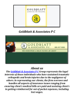 Goldblatt & Associates P C: Westchester Traumatic Brain Injury