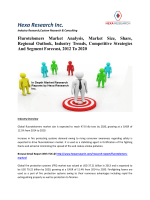Flurotelomers Market Analysis, Market Size, Share, Regional Outlook, Industry Trends, Competitive Strategies And Segment Forecast, 2012 To 2020