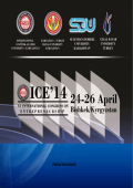 ICE2014 Kongre Kitabı - International Congress on Entrepreneurship