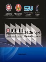 ICE2014 Kongre Kitabı - International Congress on Entrepreneurship