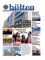 Çocuk Hastanesi Açıldı - Ankara Üniversitesi Bültenleri