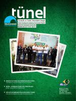 Tünel Dergisi 4 - Tünelcilik Derneği
