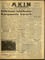 27 Mart 1963-Akın