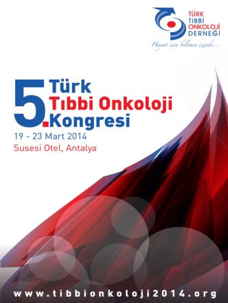 5.Türk Tıbbi Onkoloji kongresi Duyurusu