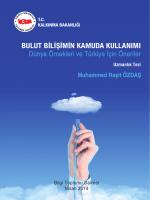 Muhammed Raşit ÖZDAŞ - TC Kalkınma Bakanlığı +