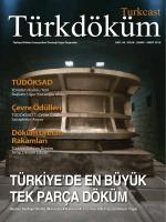 Turkcast Issue #42 - Türkiye Döküm Sanayicileri Derneği