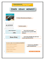 www.izmirsbs.com adresinde ücretsiz elektronik sınavlarımız sizleri