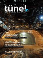 Tünel Dergisi 1 - Tünelcilik Derneği