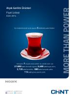 alçak gerilim fiyat listesi | ekim 2014