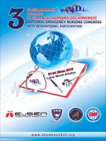 Ulusal Acil Hemşireliği Kongresi, 1