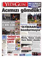 Ekmek için - Yedigün Gazetesi