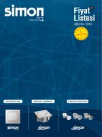 Türkiye Satış Fiyat Listesi Ağustos 2014