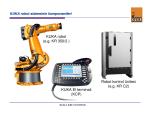 KUKA El terminali (KCP) KUKA robot (e.g. KR 350/2 ) Robot kontrol
