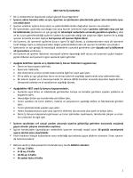İSG Özet Bilgiler (6331) - İş Güvenliği Uzmanlığı