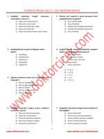 tusdata nisan 2015 1. tus deneme sınavı