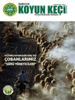 Sayı 3 - Türkiye Damızlık Koyun Keçi Yetiştiricileri Merkez Birliği