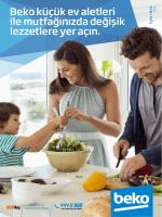 Beko küçük ev aletleri ile mutfağınızda değişik lezzetlere yer açın.