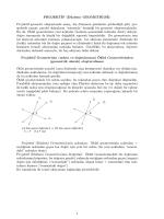 PROJEKT˙IF (Düzlem) GEOMETR˙I(S˙I): Projektif geometri