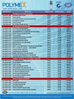 polymex 2014 fiyat listesi