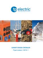 Tplast Fiyat Listesi 2014/1