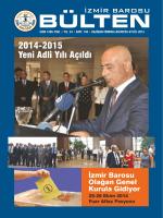 Sayı 194 - İzmir Barosu