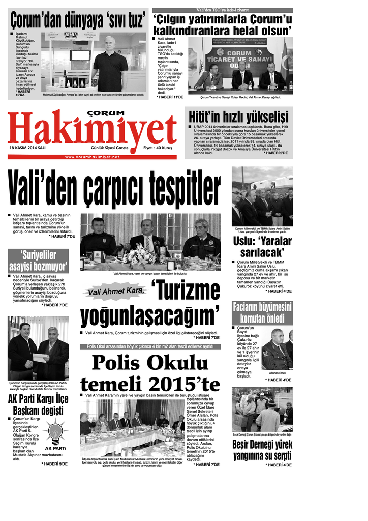 18 Kas 375m Qxd Corum Hakimiyet Gazetesi