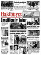 18 ocak.qxd - Çorum Hakimiyet Gazetesi