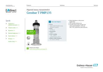 Cerabar T PMP135 (PDF 2,47 MB) - E-direct