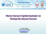 Dr. Cansu ÖZTÜRK - Türkiye Halk Sağlığı Kurumu